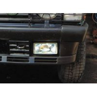 Rechthoekige verstralers Range Rover Classic 190×90 mm hangende uitvoering