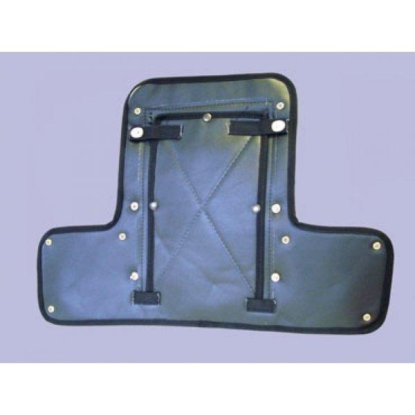 Radiateurhoes Disco 2 voor rechthoekige koplampen