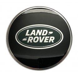 Naafkap Zwart Land Rover