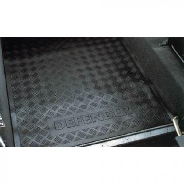 Bagagevloermat Defender 110 hardtop tm modeljaar 2006 met Defender logo