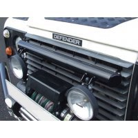 Light bar voor op de Commercial winch bumpers Defender