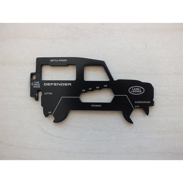 Land Rover Gear Multitool Defender Zwart