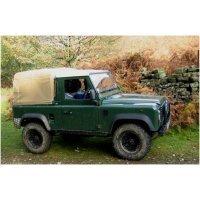 Land Rover Defender 90 - Zonder zijramen - 3/4 Daklengte - Montage tegen cabine - 1984 - 2003