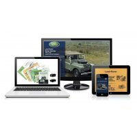 DVD ebook - Technische Publicaties - Land Rover Series 1948-1985