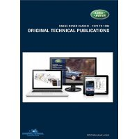 DVD ebook - Originele Technische Publicaties - Range Rover Classic 1970-1995