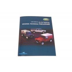 DVD ebook - Orginele Technische Publicaties Defender 90/110/130 1983-2011