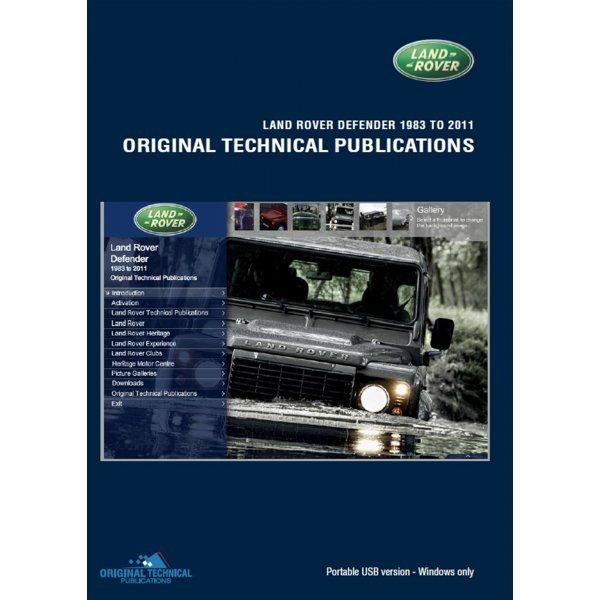 USB - Technische Publicaties - Defender 90/110/130 1983-2011